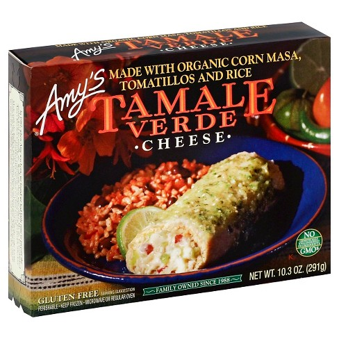 Amy's Cheese Frozen Tamale Verde - 10.3oz - image 1 of 1