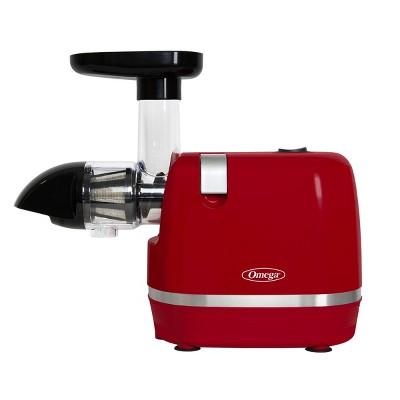 Omega Cold Press Slow Masticating Juicer - Red