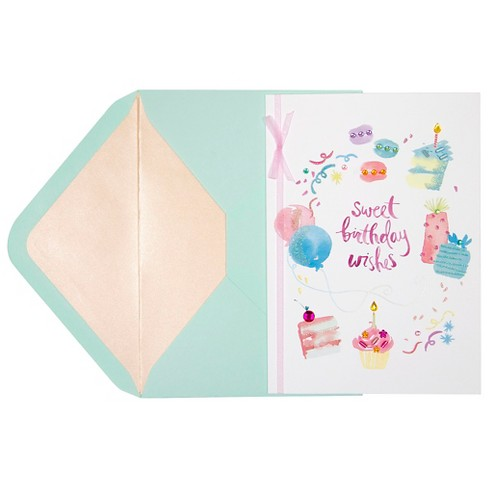 Papyrus Taylor Swift Watercolor Birthday Icons Target