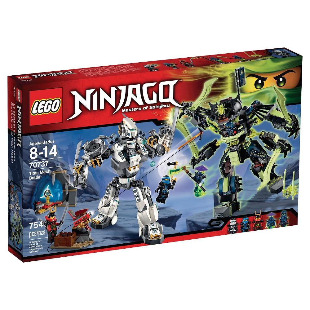 Lego Ninjago Titan Mech 70737