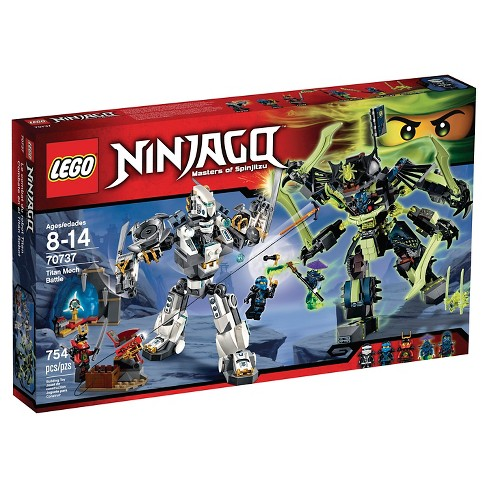 lego ninjago titan mech 70737 target