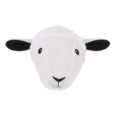 Little Love by NoJo Sheep Plush Head Wall Decor