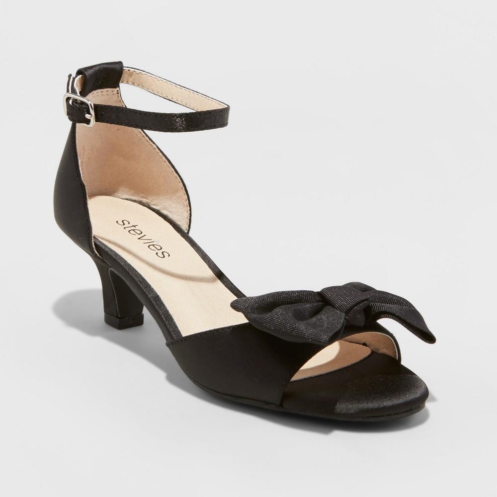 Girls' Stevies #Shootingstar Dressy Ankle Strap sandals - Black 2