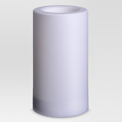 Outdoor LED Flameless Candle - 5 x9  - White - Project 62™