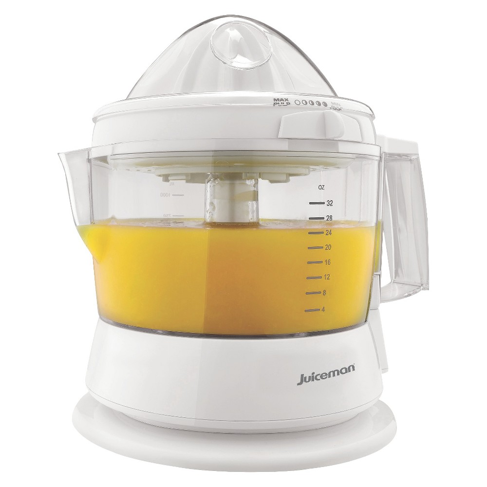 BLACK+DECKER 34oz Citrus Juicer - White CJ625