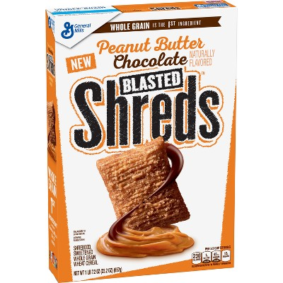 Breakfast Cereal: Blasted Shreds