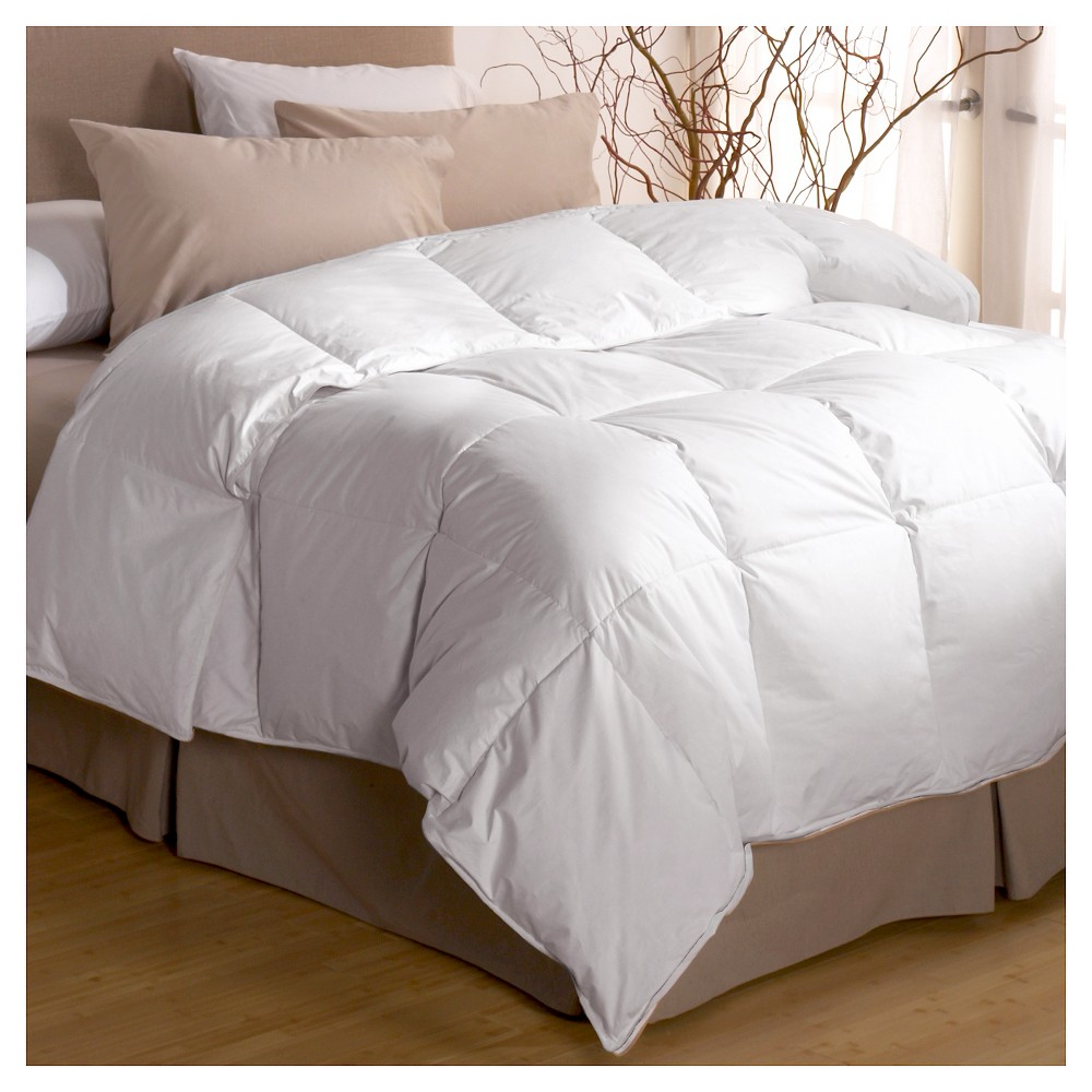 Restful Nights Premium Down Comforter - White (Full/Queen)