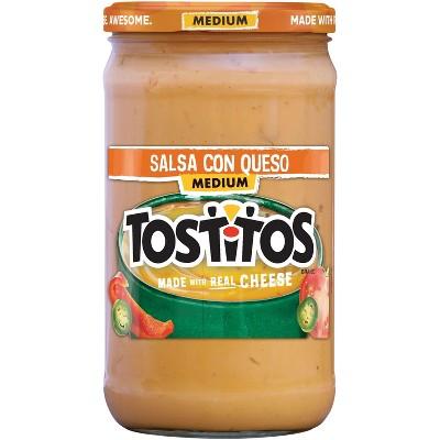 Salsas & Dips: Tostitos Salsa Con Queso