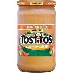 Tostitos Salsa Con Queso- 23 oz