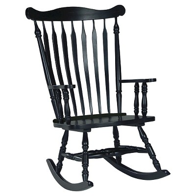 Rocking Chair Solid Wood - International Concepts