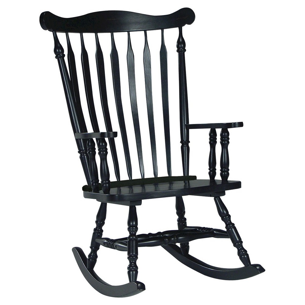 Rocking Chair Solid Wood International Concepts