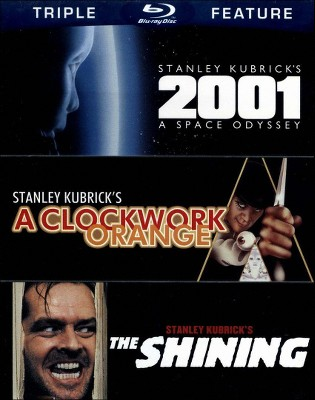 2001: A Space Odyssey/A Clockwork Orange/The Shining [Blu-ray]