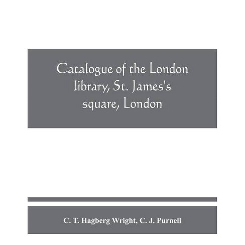 Catalogue of the London library, St. James's square, London. Supplement, 1913-1950 - (Paperback) - image 1 of 1