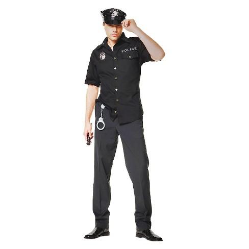 Men S Cop Costume Target