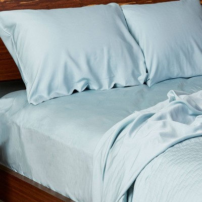 300 Thread Count 100% Rayon from Bamboo Solid Sheet Set - BedVoyage