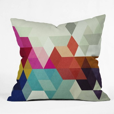 Three Of The Possessed Modele Square Throw Pillow - Deny Designs
