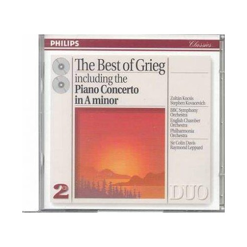 Grieg - Grieg:Best of (CD) - image 1 of 1