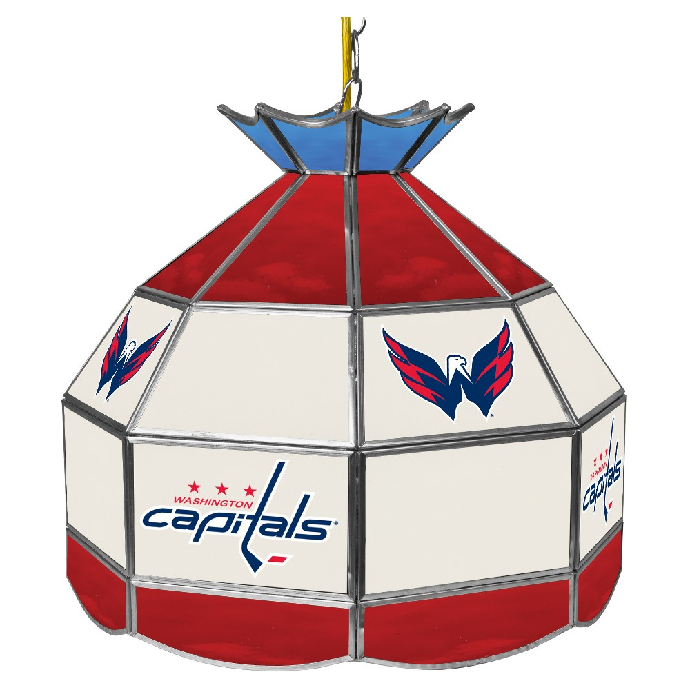 NHL Washington Capitals 16 Handmade Tiffany Style Lamp