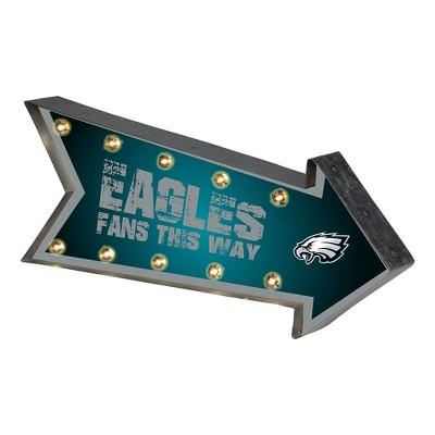 NFL Philadelphia Eagles Arrow Light Up Marquee Sign
