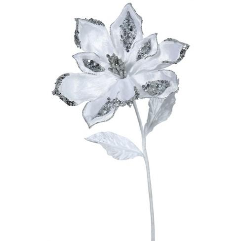 Vickerman Velvet Magnolia Aritificial Christmas Pick - image 1 of 2