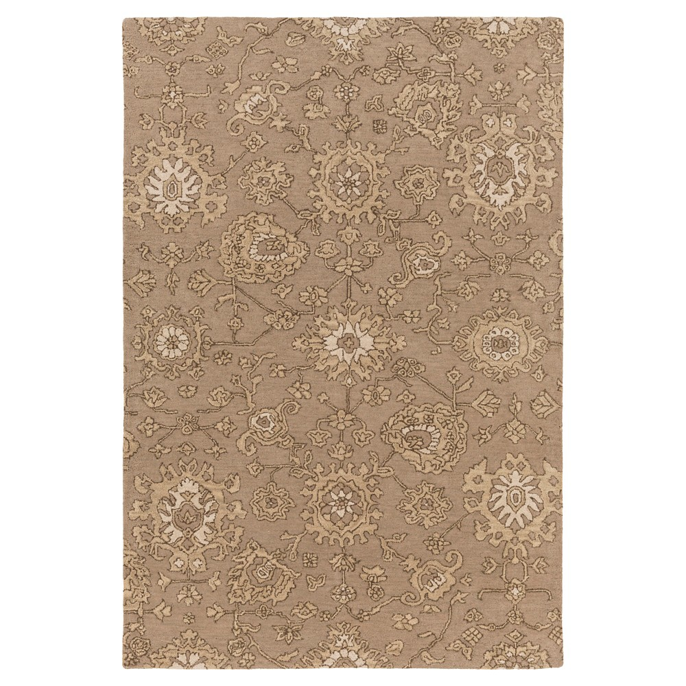 Noach Area Rug - Taupe (Brown), Beige - (9' x 13') - Surya
