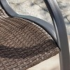 Gracie's Wicker Patio Rocking Chair - Brown - Christopher Knight Home - image 4 of 4