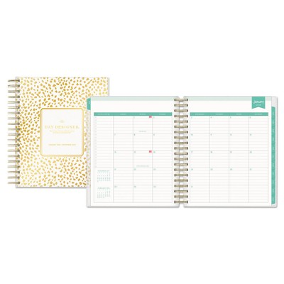 image regarding Day Designer for Target named 2017-2018 Working day Designer Instructional Planner Every day Month to month Gold