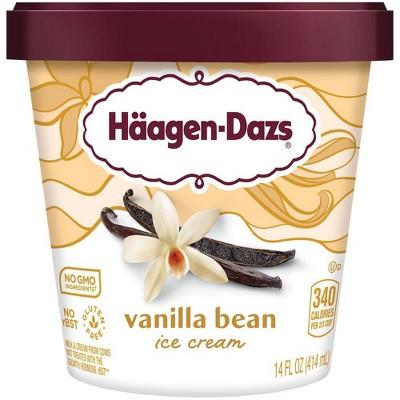 Haagen Dazs Vanilla Bean Ice Cream - 14oz