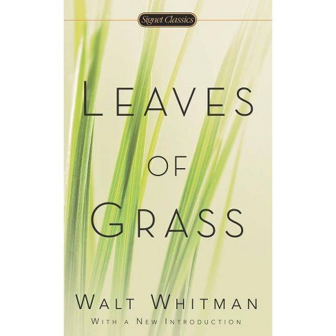 Leaves of Grass - (Signet Classics) by  Walt Whitman (Paperback) - image 1 of 1
