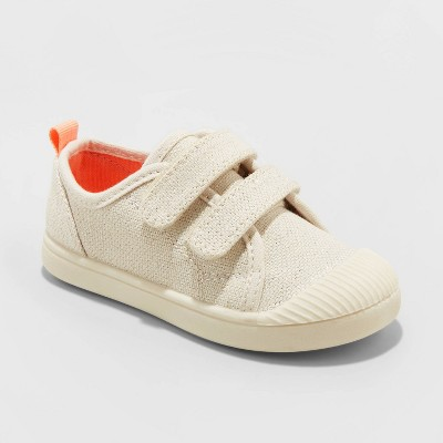 Toddler Girls' Madge Casual Sneakers - Cat & Jack™ Beige 5
