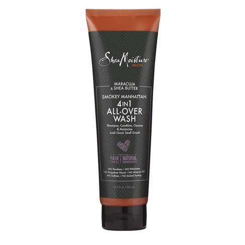 SheaMoisture Men's Smokey Manhattan 4-in-1 All-Over Wash - 10.3 fl oz - image 1 of 4