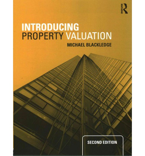 Introducing Property Valuation (Paperback) (Michael Blackledge) - image 1 of 1