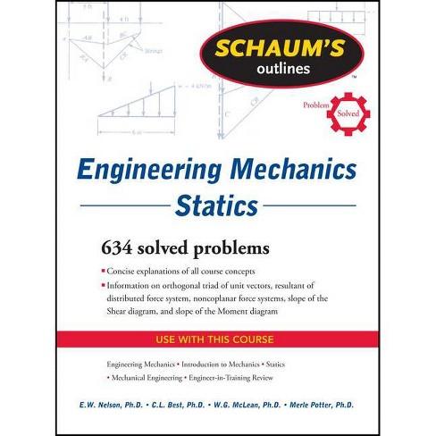 Schaum's Outline of Engineering Mechanics: Statics - (Schaum's Outlines) 6  Edition (Paperback)