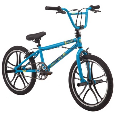 "Mongoose Index Mag Wheel 20"" Freestyle Bike - Blue"