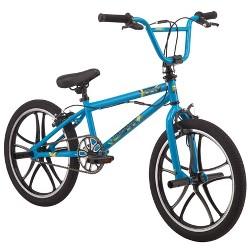 "Mongoose Index Mag Wheel 20"" Freestyle Bike - Blue"