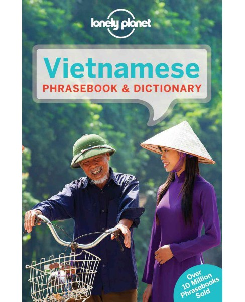 Lonely Planet Vietnamese : Phrasebook & Dictionary (Paperback) - image 1 of 1