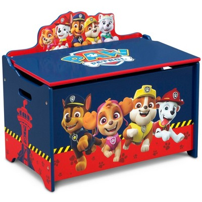 PAW Patrol Deluxe Toy Box - Delta Children