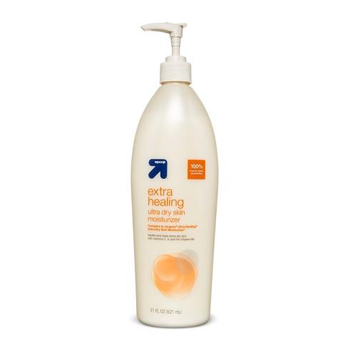 21 fl oz Extra Healing Ultra Dry Skin Moisturizer - up & up™ - image 1 of 1