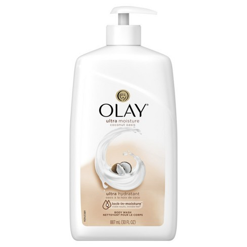 Olay Ultra Moisture Coconut Oasis Body Wash Pump - 30oz - image 1 of 2