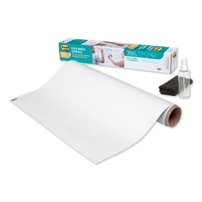 Post-it Flex Write Surface, 48 x 36, White FWS4X3