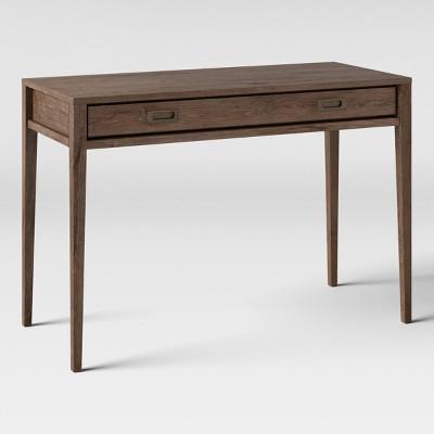 millbury rustic wood desk threshold target rh target com rustic wood desk diy rustic wood desk with drawers