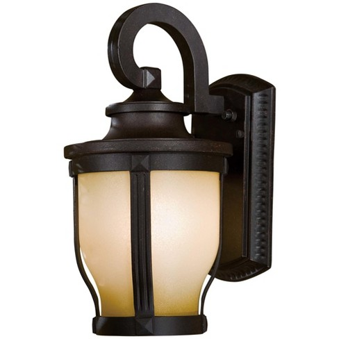 """The Great Outdoors 8761 1 Light 12.25"""" Height Fluorescent Outdoor Wall Sconce from the Merrimack Collection - image 1 of 1"""