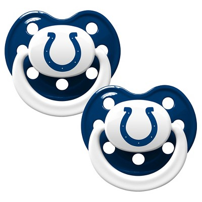 Indianapolis Colts Baby Fanatic Pacifiers - 2 Pack