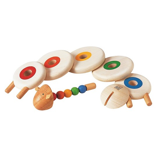 PlanToys Lacing Sheep, stacking and sorting toys image number null