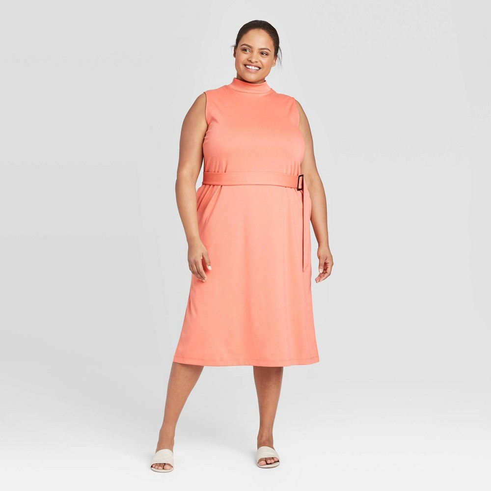 Women's Plus  Sleeveless Dress - Prologue Orange 3X was $29.99 now $16.49 (45.0% off)