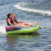 Connelly Fun 2 Person 2 Way 65x65 Inch Hybrid Inflatable Pull Behind Boat Towable Water Inner Tube - image 3 of 4