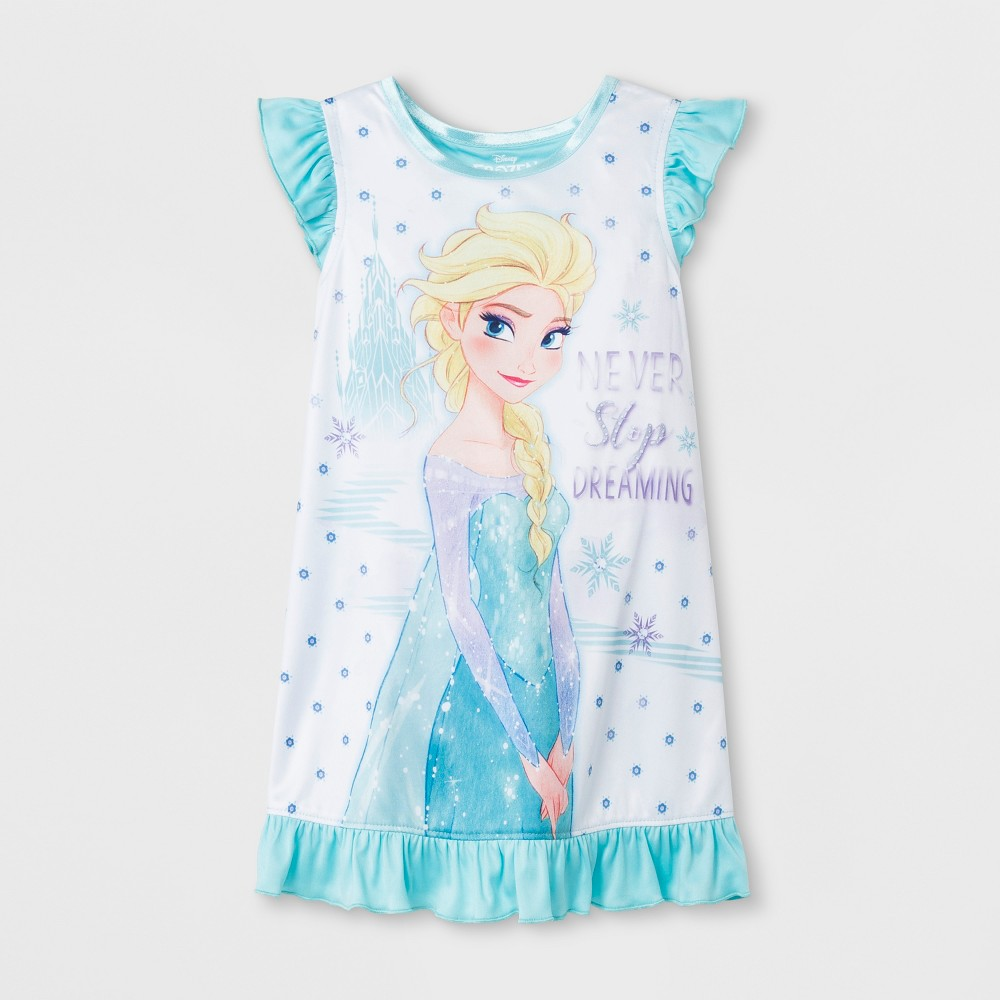 Toddler Girls' Frozen Nightgown - Blue 3T