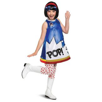 Kids' Deluxe L.O.L. Surprise! Pop Art Halloween Costume Dress S (4-6x)