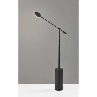 Grover Floor Lamp (Includes LED Light Bulb) Black - Adesso