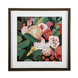 "20""x20"" Framed Floral Framed Wall Poster Print - Opalhouse™"